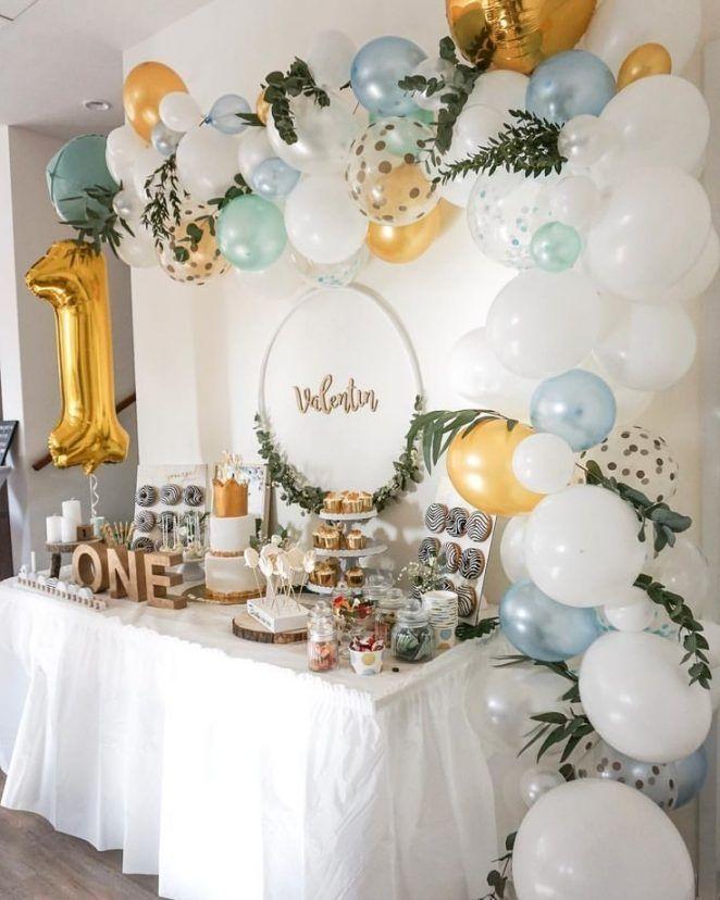 Decoracion De Pinterest Las 33 Tendencias Para 2020 Homelisty In 2020 Baby Boy 1st Birthday Party Boys 1st Birthday Party Ideas 1st Boy Birthday