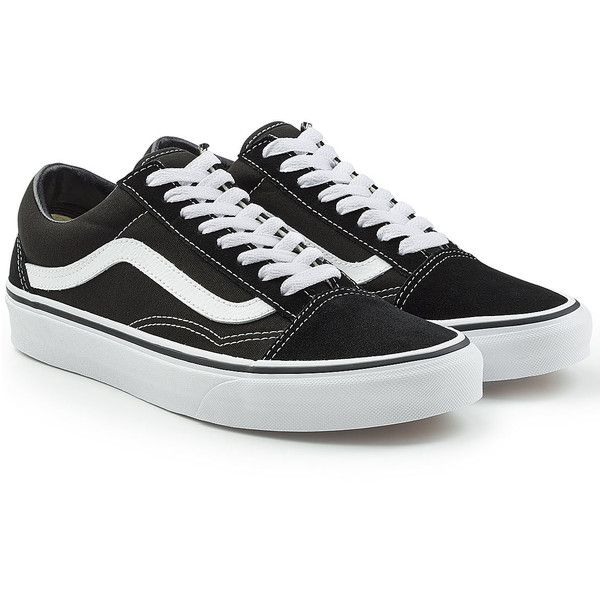 Vans Old Skool Sneakers ( 70) ❤ liked on Polyvore featuring shoes ... 071d93f18357a