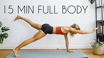 15 MIN FULL BODY WORKOUT | At Home Equipment Free