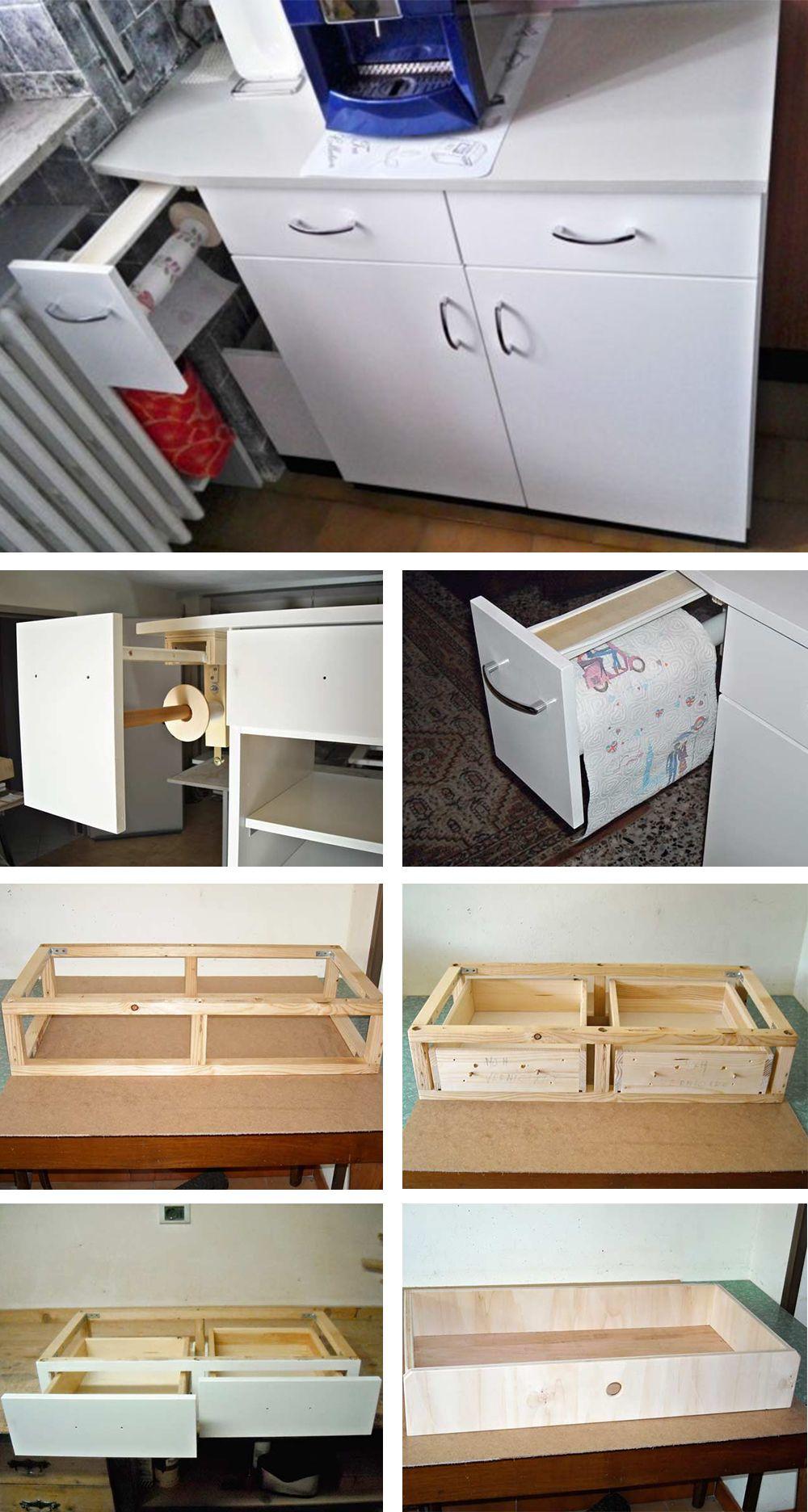 Ante Cucina Fai Da Te.Mobile Cucina Fai Da Te Con Portarotolo Mobili Da Cucina Cucina