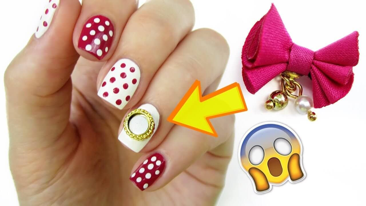You Can Find All Kinds Of Decorations In Nail Art From Little Studs