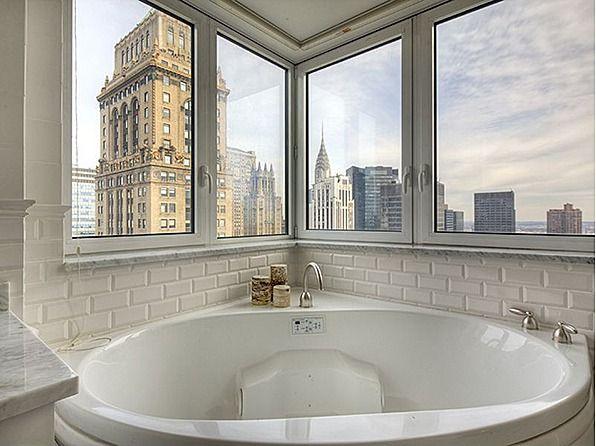 Bathing In The Big Apple Nyc Bathtub View Bathroom Beautiful Bathrooms Dream Home Design Dream House