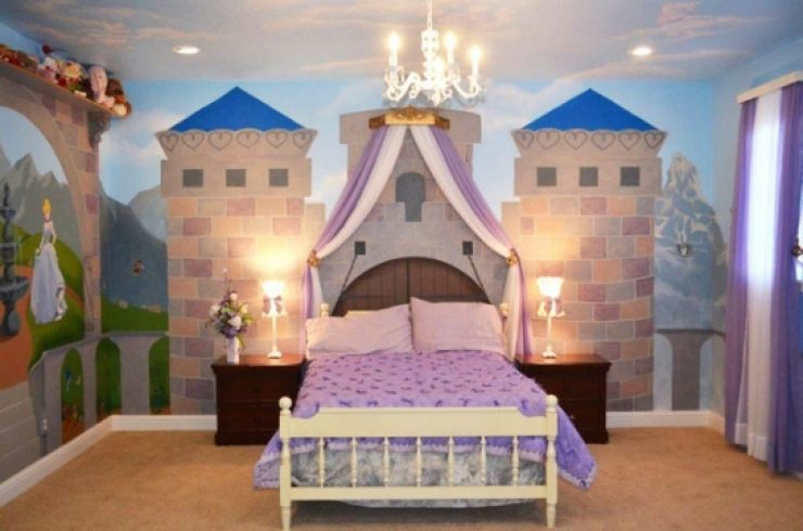 Fans De Disney Ces Chambres Devraient Vous Paire Et Vous - Disney princesse chambre idees de decoration