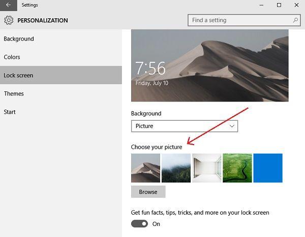 How To Change Theme Lock Screen Wallpaper In Windows 10 Lock Screen Images Lock Screen Wallpaper Screen Wallpaper