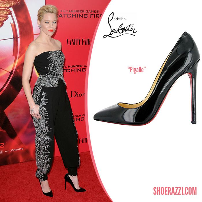 promo code a02d9 6daa5 Elizabeth Banks in Christian Louboutin