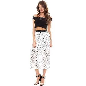 Only $6!  MKL Collective The Anytime Maxi Skirt in Ivory | Find.com  #Spring #Fashion #Style