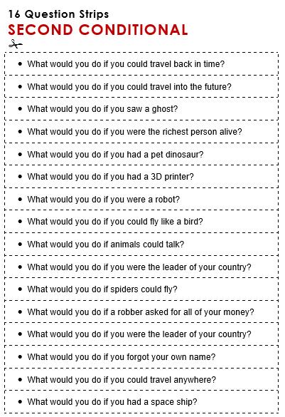 Strip quiz english