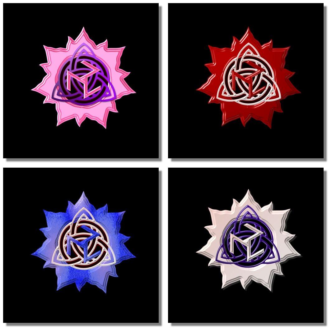 7 Petal Lotus Triquetra Antahkarana Triquetra Petal Tattoos
