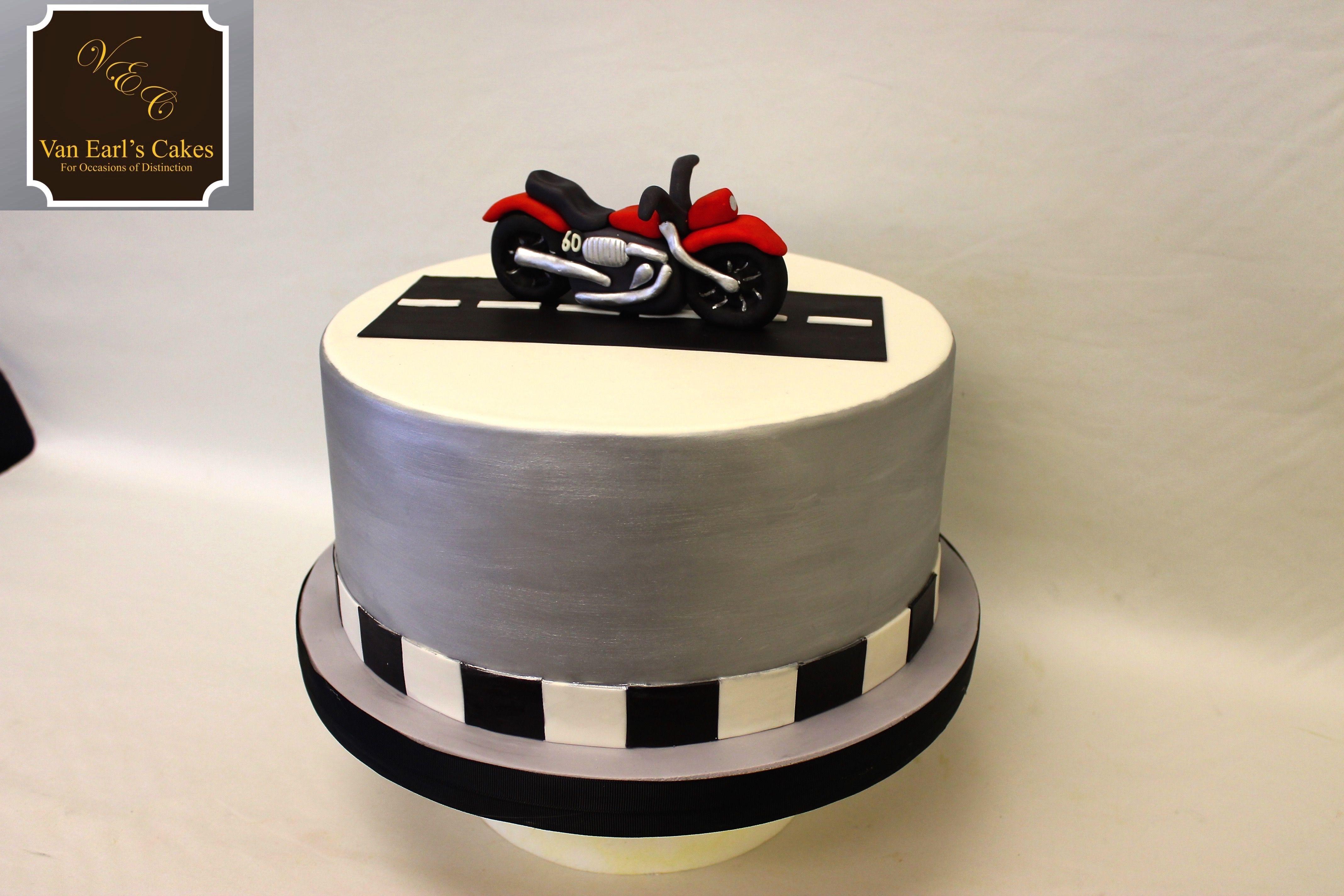 Motorcycle Theme Cake Motorcycle Birthday Biker Party