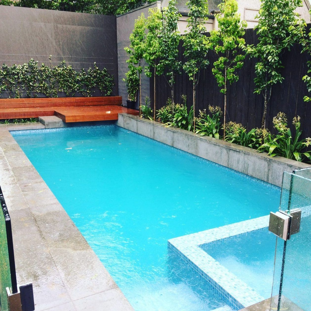60+ Great Pool Landscaping Ideas Tropical Small Backyards ...