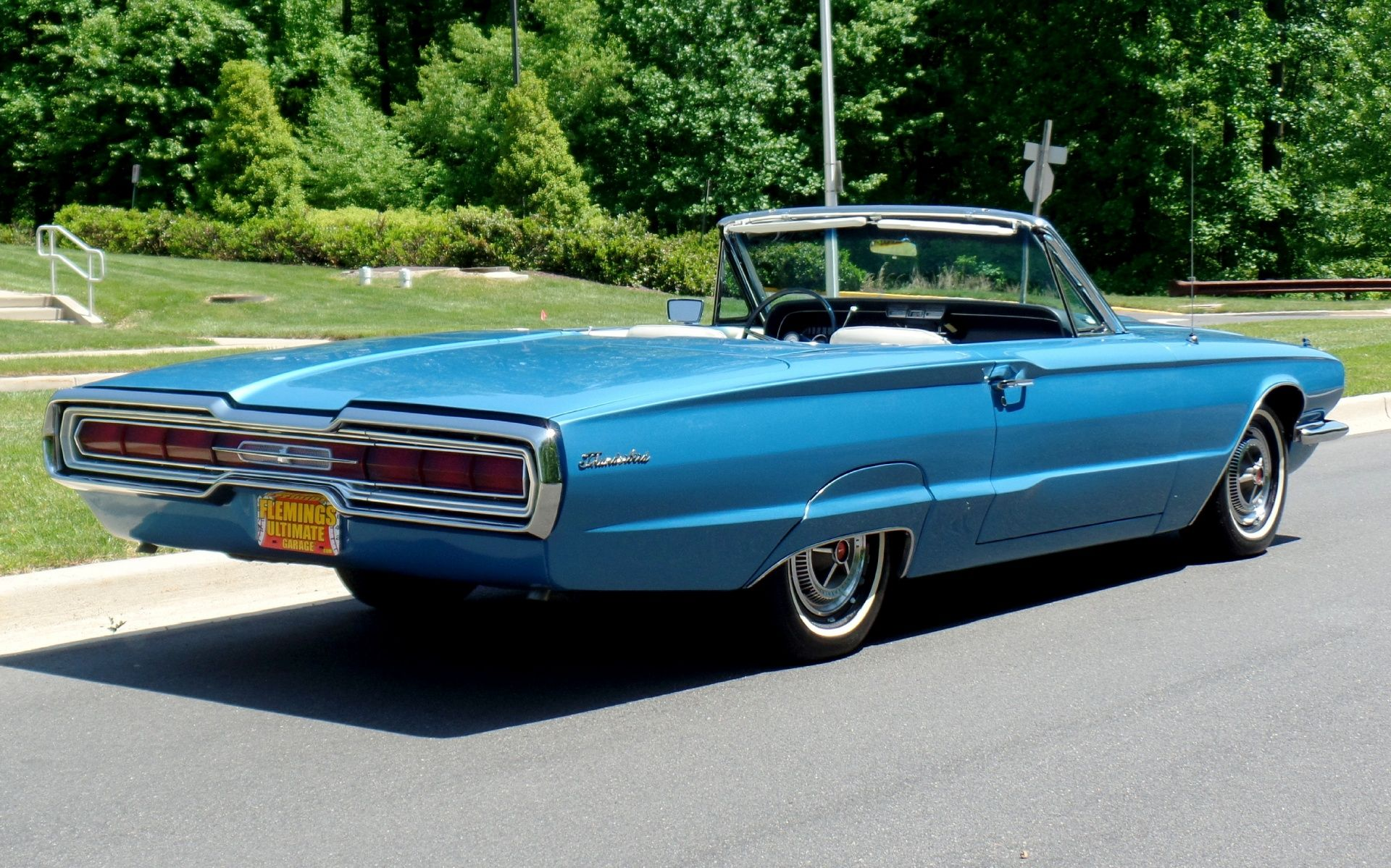 Fleming\'s Ultimate Garage - :: 1966 Ford Thunderbird Convertible ...