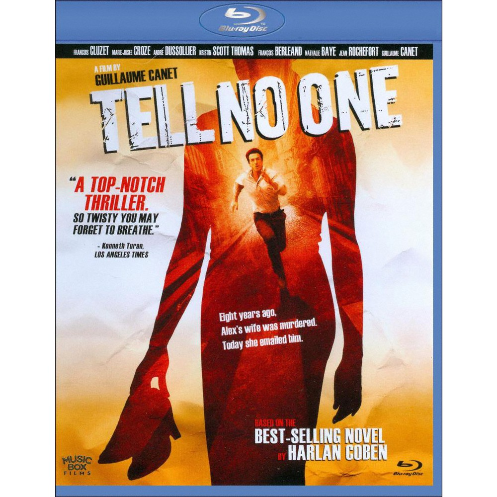 Tell No One Blu Ray 2012 Tell No One Psychological Thriller Movies Movie Genres