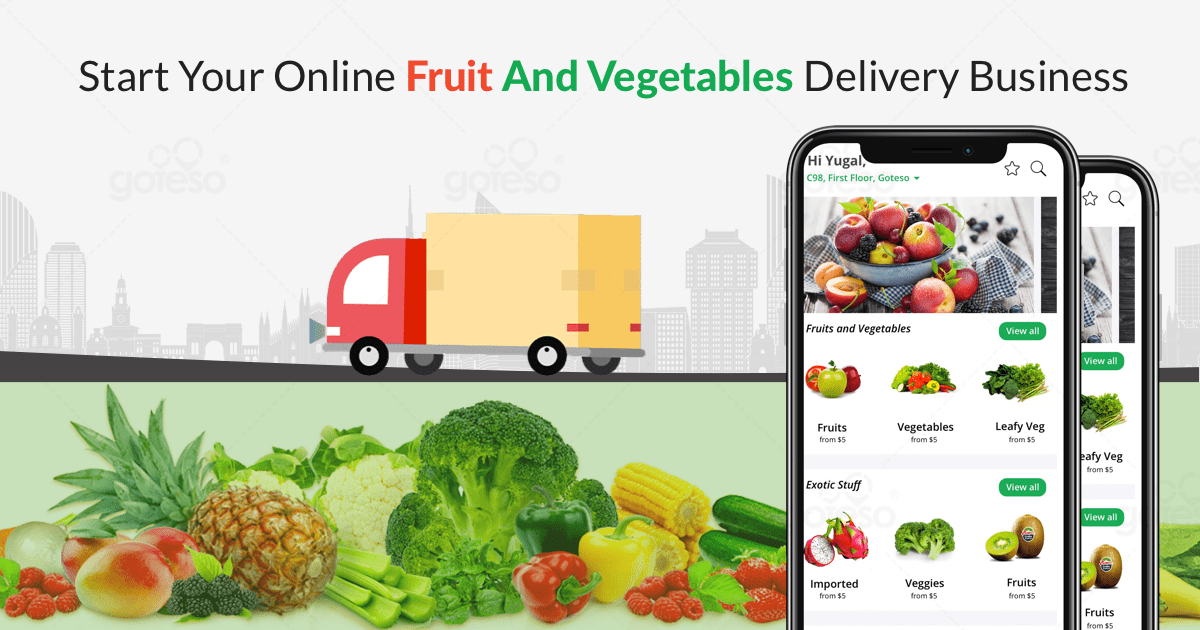How to Start Online Fruit and Vegetables Delivery Business