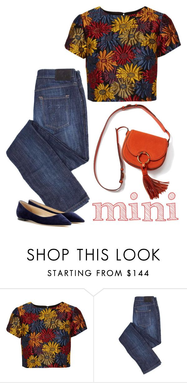 """""""Mini"""" by patricia-dimmick ❤ liked on Polyvore featuring Alice + Olivia, Tory Burch, Jimmy Choo, bags and Minime"""