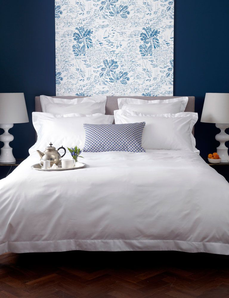 Luxury White 600 Thread Count Bed Linen Bed Sheets Bed White