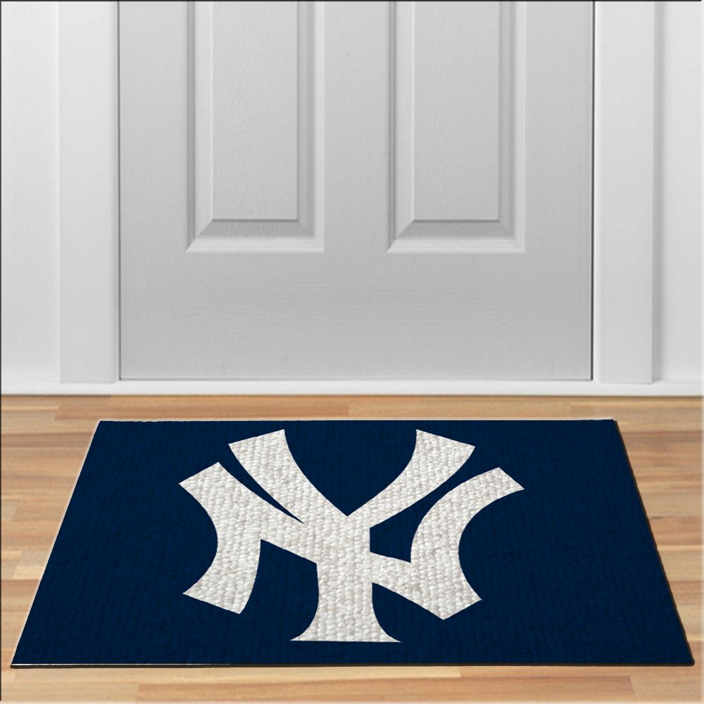 Nice Ny New York Yankees MLB Baseball Floor Durable Door Mat Non Slip · Front  Door MatsFront ...