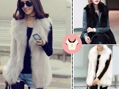 Kamizelka Futrzana Futro Ekologiczne Bezrekawnik S 5654678666 Oficjalne Archiwum Allegro Fashion Coat Fur Coat