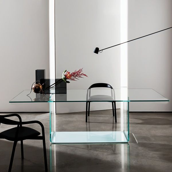 Table de salle à manger design en verre - Valencia Sovet® Valencia