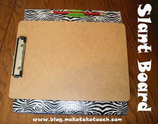 Classroom DIY: DIY Slant Board