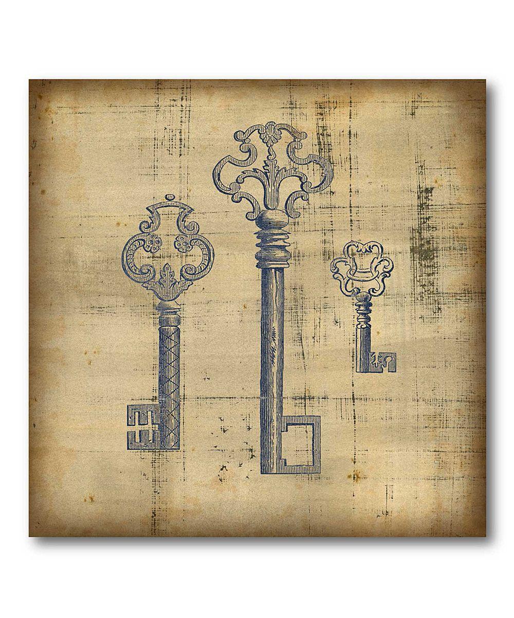 Antique Keys Canvas Wall Art. Love keys!!! | House stuff | Pinterest ...