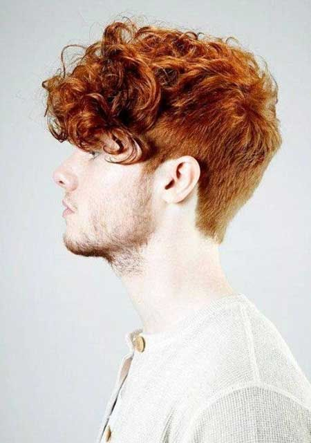 20 Cool Hair Color For Men Mens Hairstyles 2014 Curly Hair Men Ginger Hair Men Men Hair Color