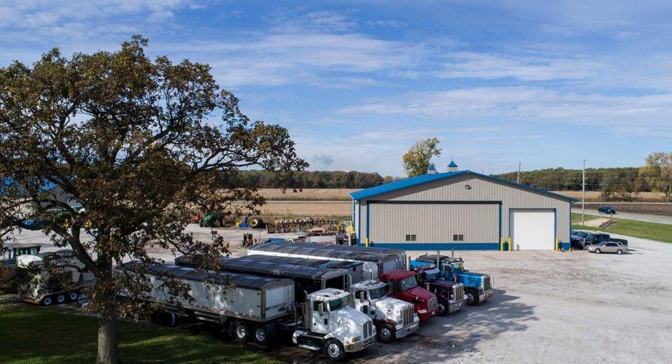Morton Buildings Farm Shop in North Judson, Indiana Farm