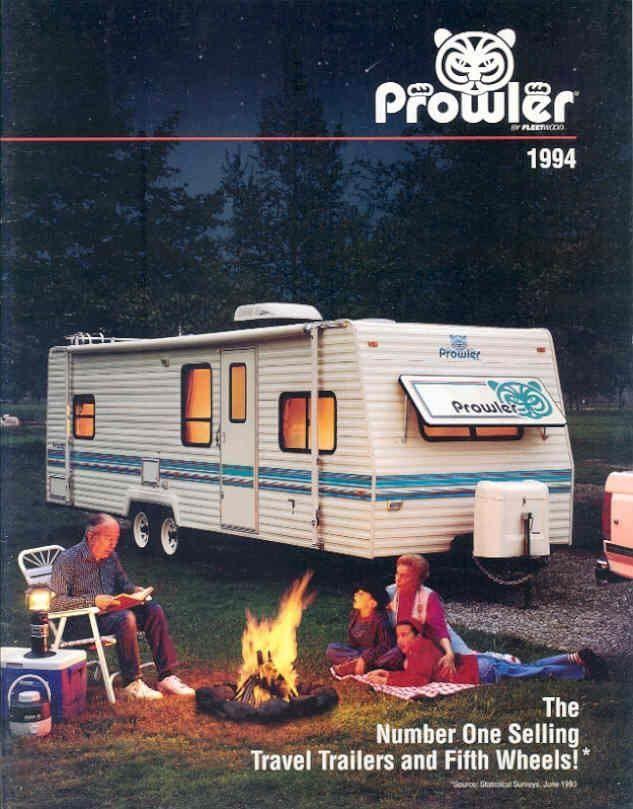 1994 Fleetwood Prowler Motorhome RV Brochure R3248 Rvs