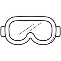 Snorkelling Mask Vector Image 1810177 Stockunlimited