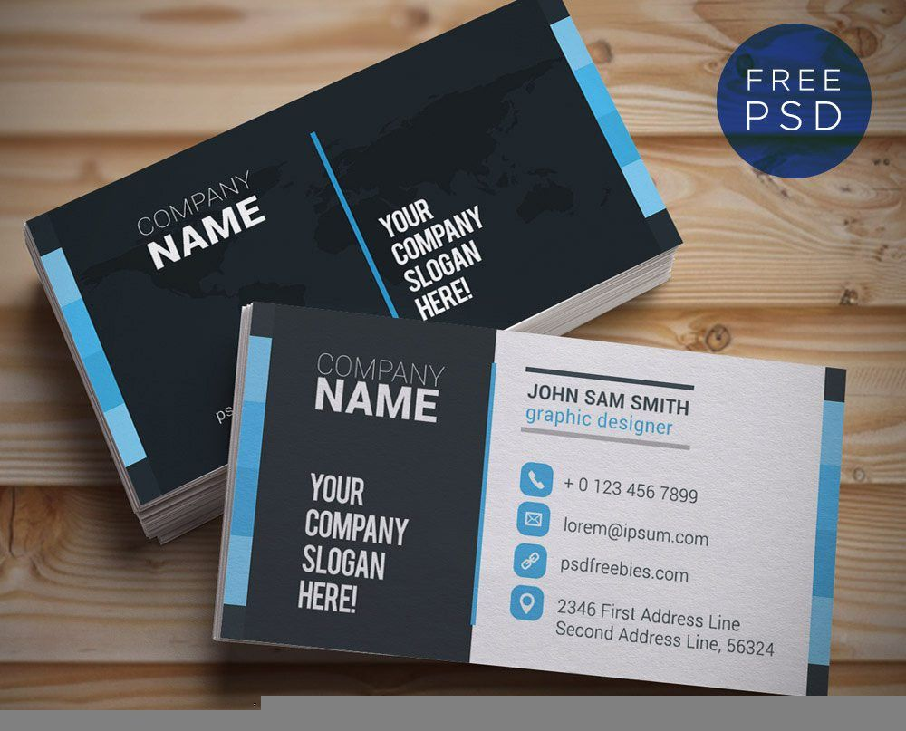business-card-template-illustrator | business cards | Pinterest