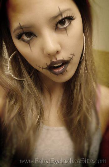 9467cb5b204 Halloween Makeup - Glasgow Look | Seasonal / Holiday / SFX lashes ...