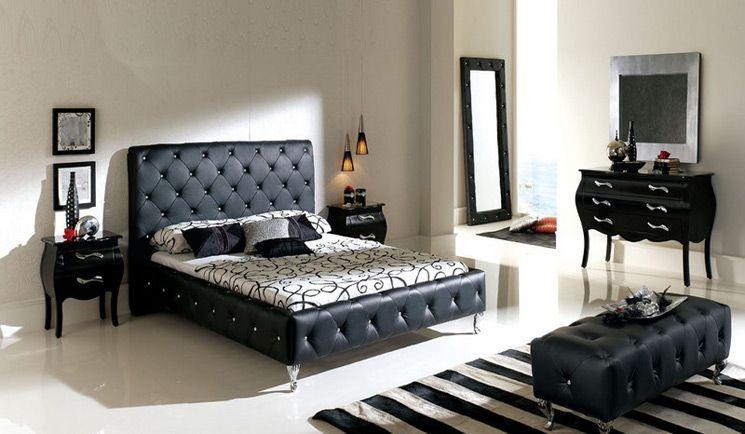 El espejo decoración en color negro | oficinas y habitaciones para ...