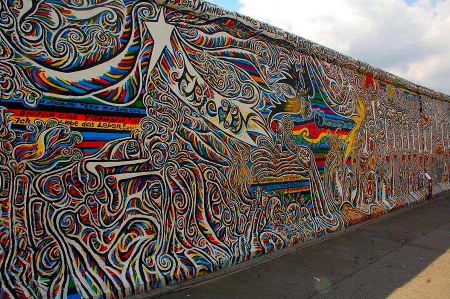 Berlin Wall Now Google Search Berlin East Side Gallery Psychedelic Art
