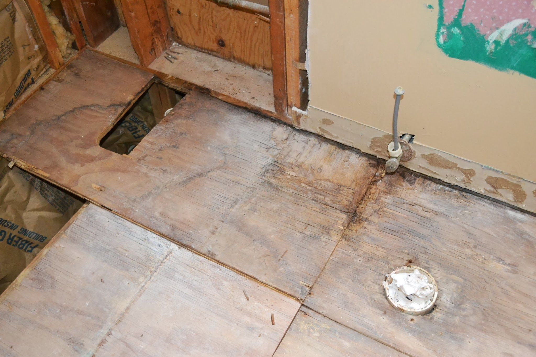 Replacing subfloor damaged by water 1  TERRYS STUFF in
