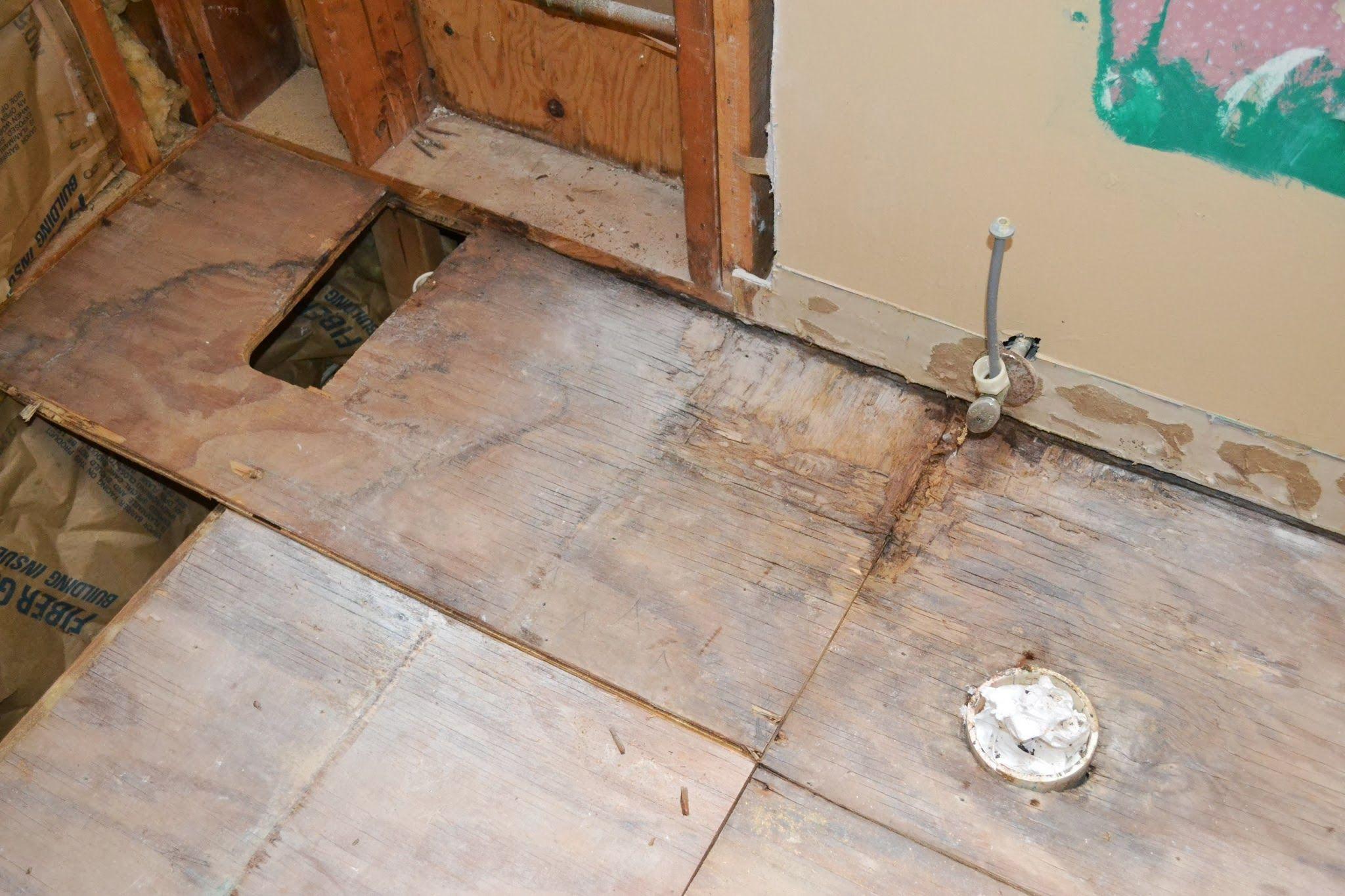 Replacing Subfloor Damaged By Water Diy Home Repair Flooring