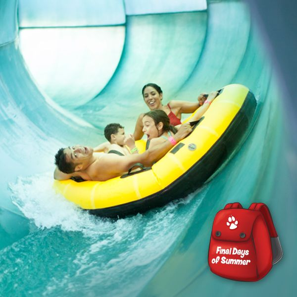 Last chance for summer family fun!   Great Wolf Lodge ...