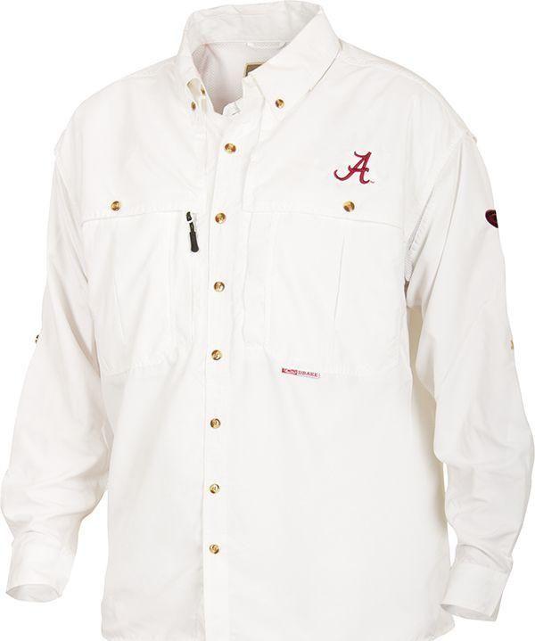 12280b5430e48 Alabama Wingshooter's Shirt Long Sleeve | Products | Long sleeve ...