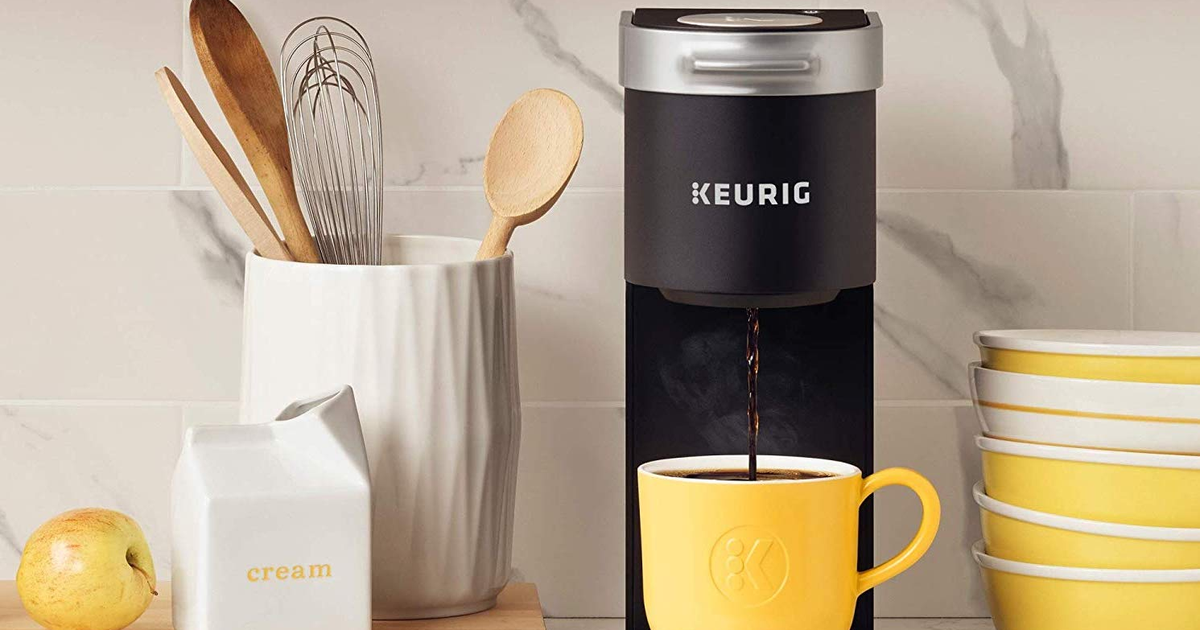 Keurig mini coffee maker is on sale for 20 off at Amazon