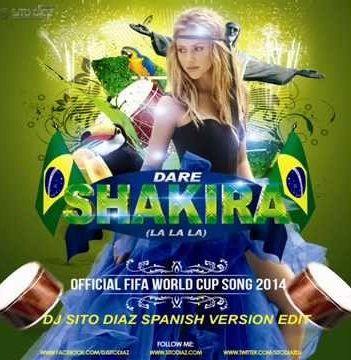 Download Football World Cup 2014 Mp3 Shakira Theme Song Free Shakira World Cup Song World Cup