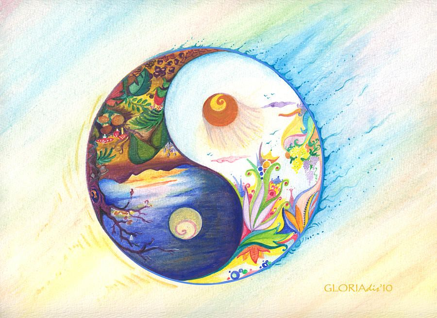 Yin And Yang Energies Which One Dominates In Your Life Live Love Raw Yin Yang Art Ying Yang Art