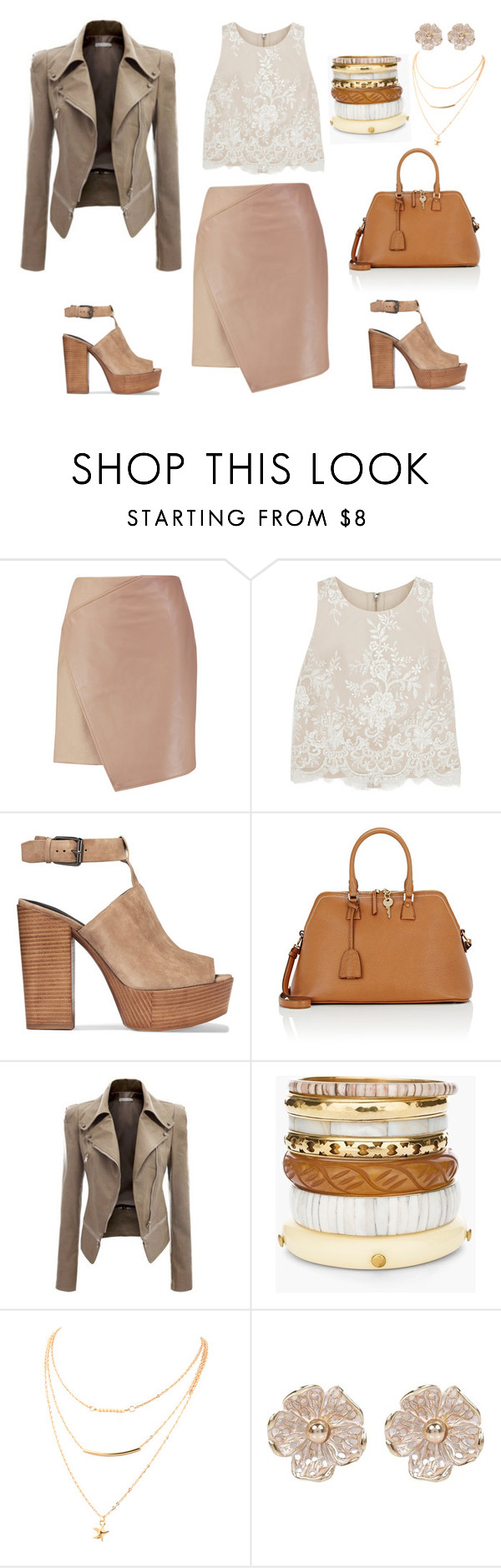 """""""Untitled #193"""" by blossomsbeauty on Polyvore featuring Carven, Alice + Olivia, Rebecca Minkoff, Maison Margiela, Chico's and River Island"""