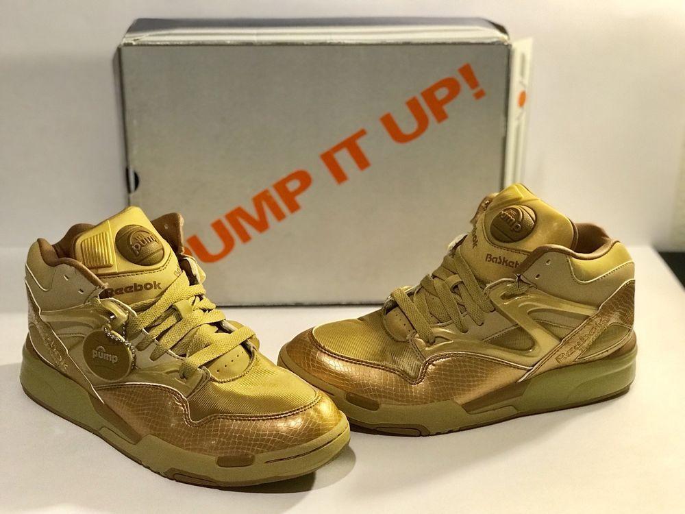 c61dec393d2e1e NEW Reebok Pump Omni Lite Auduet Gold Edition Saints 8.5M  fashion   clothing  shoes  accessories  mensshoes  athleticshoes (ebay link)