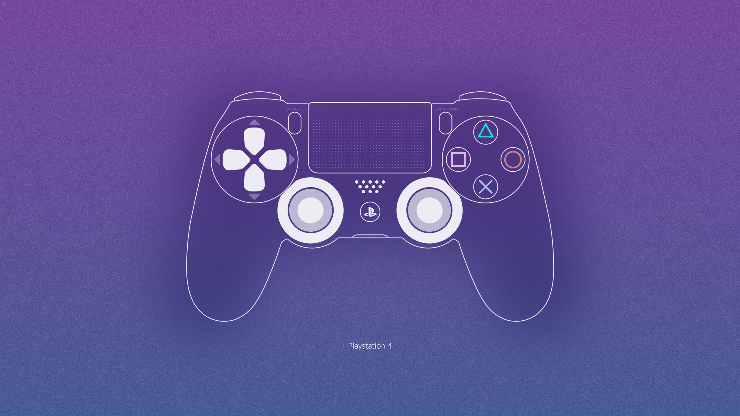 Обои ps4, playstation, dualshock 4, геймпад, sony. HI-Tech foto 8