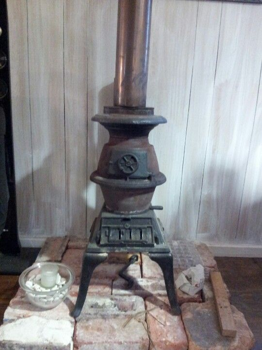pot belly stove for warmth - Sears Roebuck Wood And Coal Pot Belly Antique Stove - PB1629
