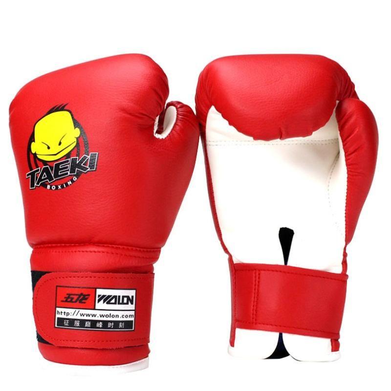 Kinder Handschuhe Grappling Kampfsport kämpfen Boxhandschuhe Trainings Kickboxen