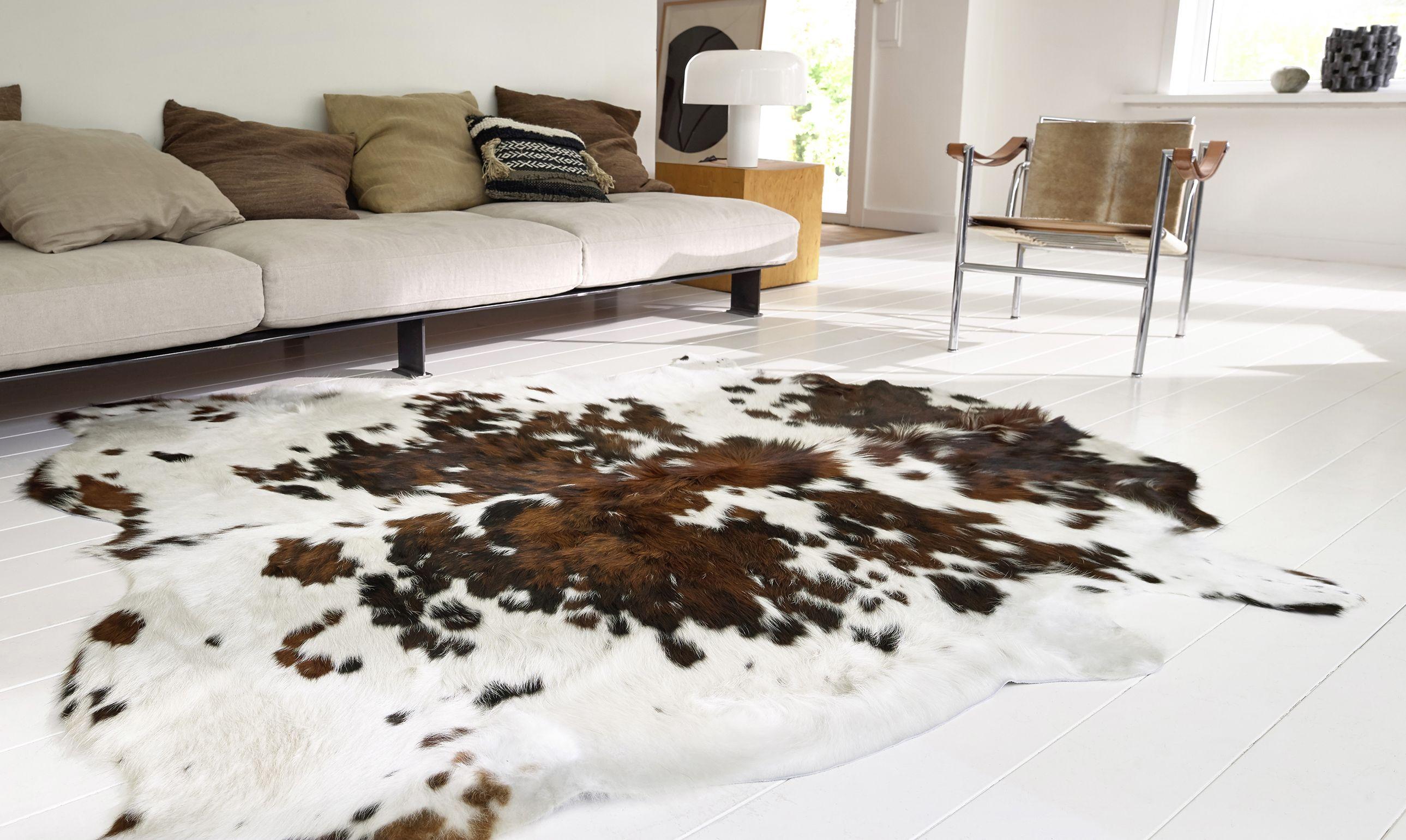 tapis peau de vache tapis peau