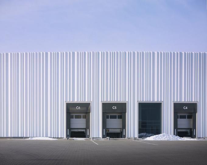 Warehouse Facade Design Google Search Facade Design Factory Architecture Industrial Architecture