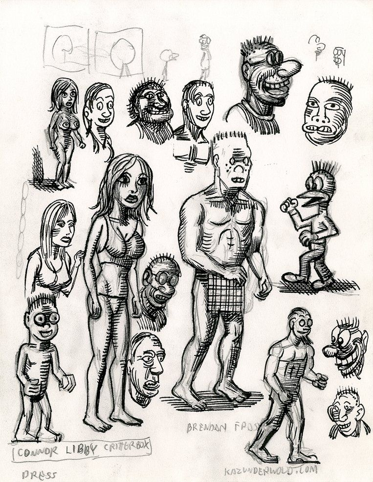 Vintage Screen Stories sketch book
