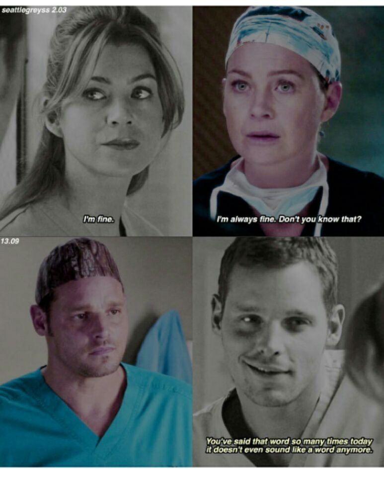 Alex and Meredith | Grey\'s Anatomy | Grey\'s! | Pinterest | Anatomía ...