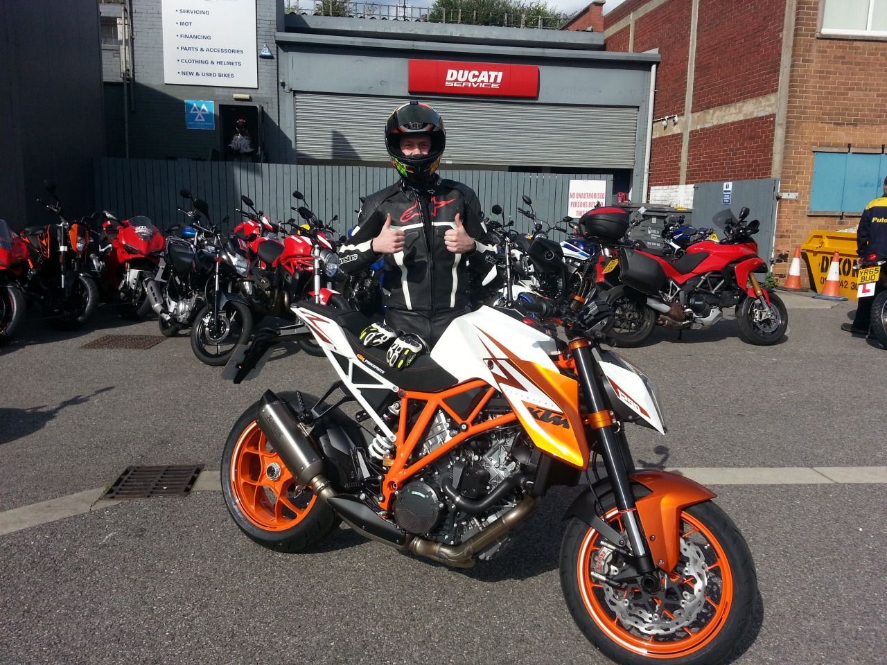 Top Bike Top Bloke We Know Youll Enjoy That Awesome Ktm Thanks