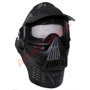 Apsauginė veido kaukė  'AIRSOFT DE LUX'. Su šia kauke bus apsaugota akių sritis, metalinis tinklelis užtikrins apsaugą dirbant pavojingomis sąlygomis ar žaidžia